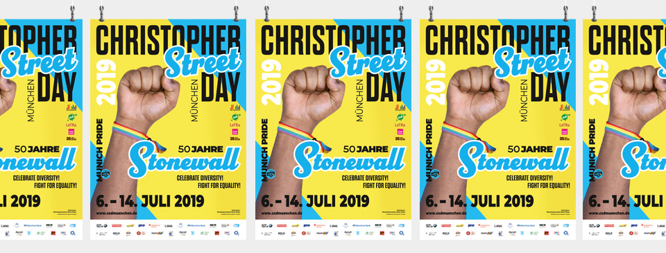 50 Jahre Stonewall – Celebrate diversity! Fight for equality!